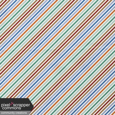 Paper Diagonal Stripe - October 2020 Blog Train