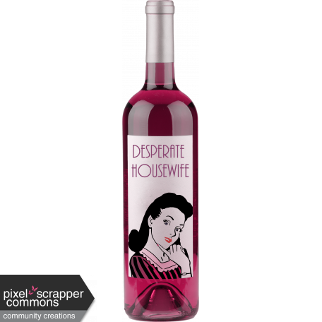 a29323966b2 The Desperate Housewife Wine Emb 10 graphic by Sharon Grant | Pixel ...