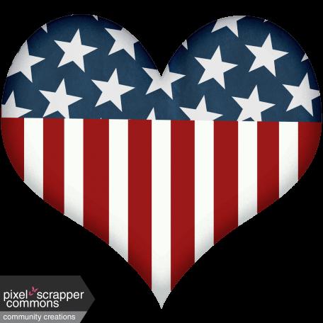Celebrate America Heart #1