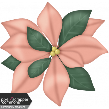 41698d4faad3 Retro Holly Jolly Poinsettia  1 graphic by Dawn Prater
