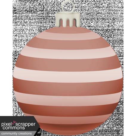 Retro Holly Jolly Ornament #6