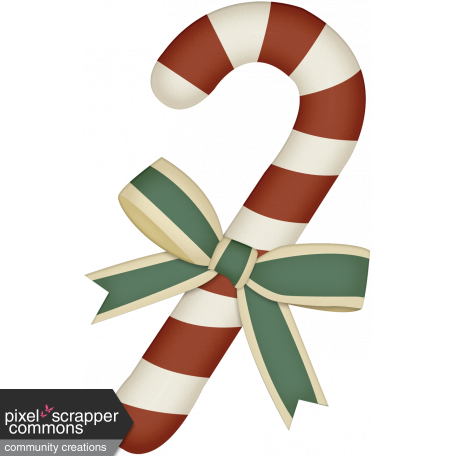 Retro Holly Jolly Candy Cane