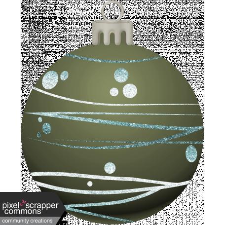 Retro Holly Jolly Ornament #9
