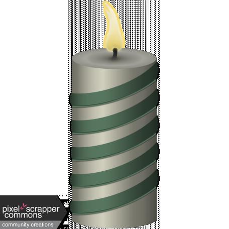 Retro Holly Jolly Candle #2