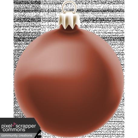 Retro Holly Jolly Ornament #17