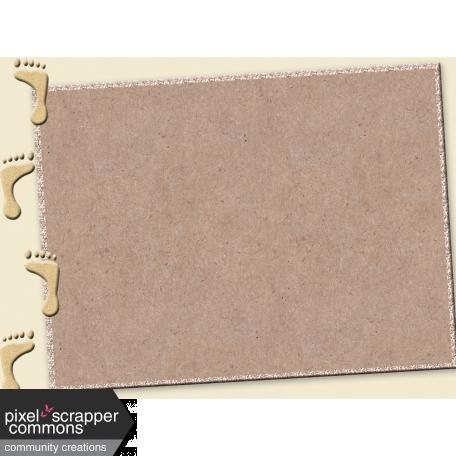 Just Beachy - journal/pocket card 5