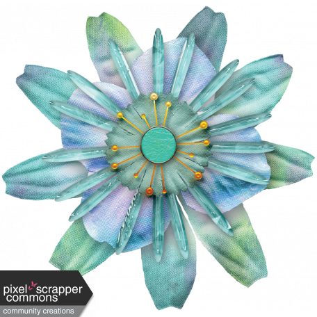 Just Beachy - flower 7