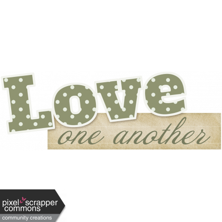 Love Knows No Borders - word art 1