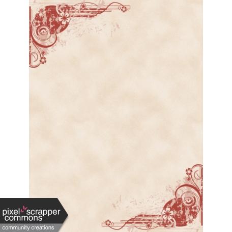 Fall in Love - pocket card 1, 3x4