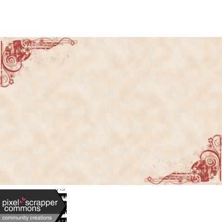 Fall in Love - pocket card 1, 4x6