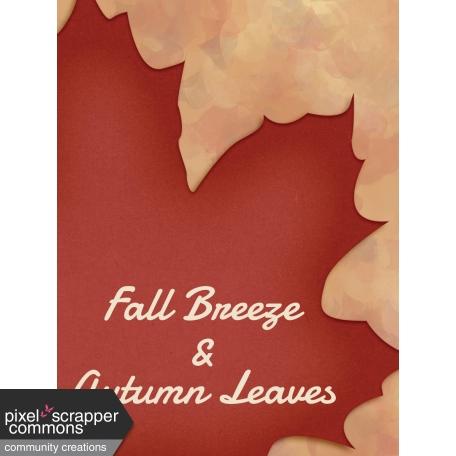 Fall in Love - pocket card 5, 3x4