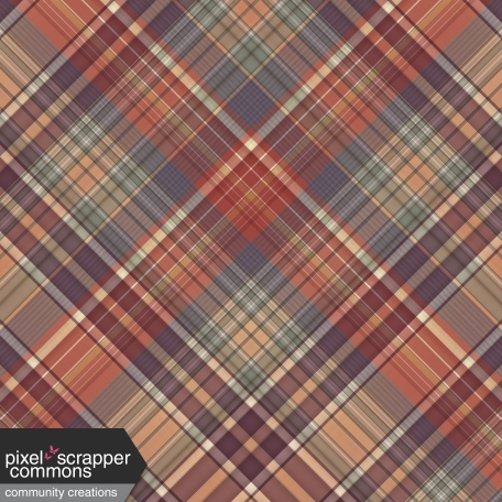 Fall in Love - plaid paper 3