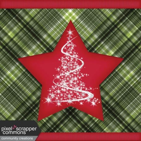 Christmas Magic - pocket card 3, 4x4