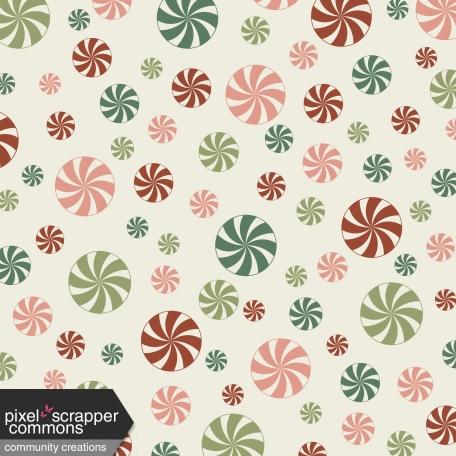 Retro Holly Jolly - pattern paper 2