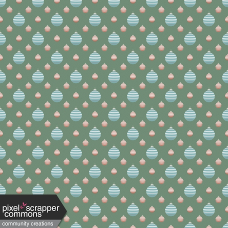 Retro Holly Jolly - pattern paper 5