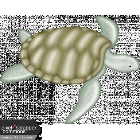 Down Where It's Wetter 2 - sea turtle