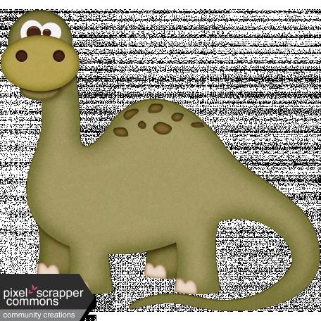 Dino-Mite, mini kit brontosaurus