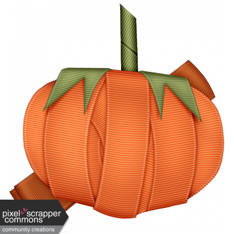 This is Halloween Minbi: Ribbon Pumpkin