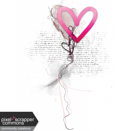 Me & You - Heart Embellishment