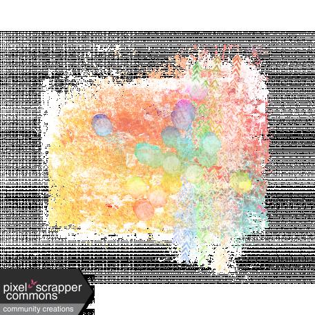 Chalk & Paint Splatter - Primary Colors