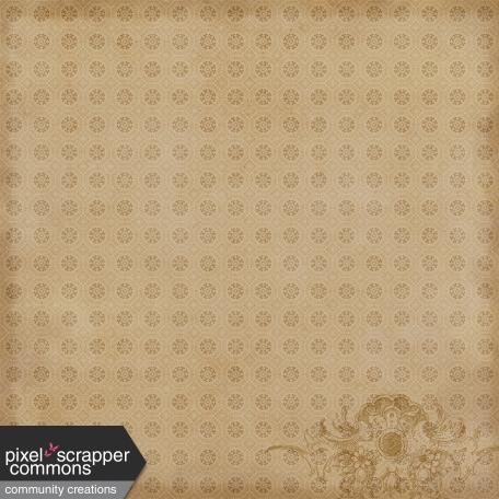 Antique Autumn - Pattern Paper 4