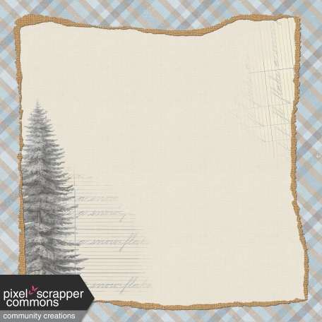 Rustic Winter - Paper 2