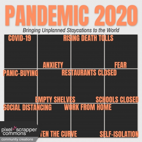 Pandemic Layout Template
