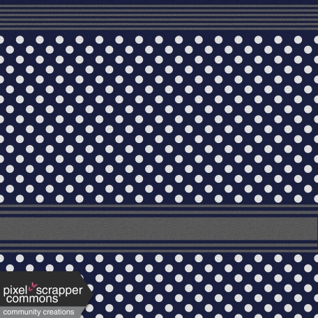 My Life Palette - Knit Navy/White Polka Dots Paper