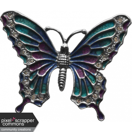 My Life Palette - Butterfly Pin