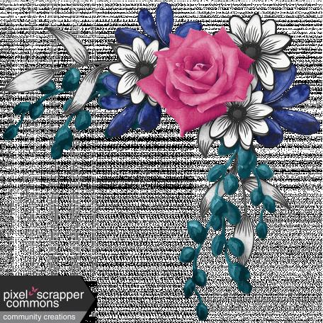 My Life Palette - Rose Corner Cluster