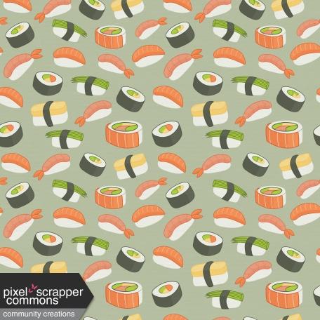 Sushi Set - Paper 7
