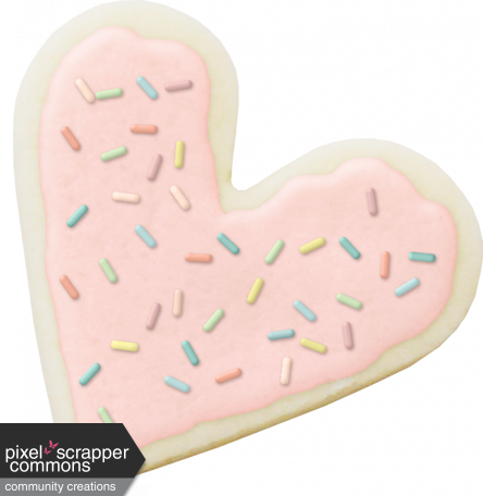 SugarSnap Heart Cookie