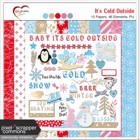 Baby it's Cold Outside Mini Kit