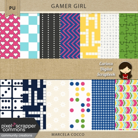 Gamer Girl Papers