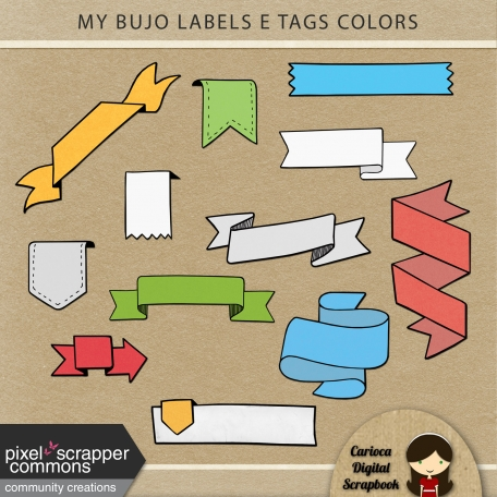 My Bujo Tags & Labels Colors