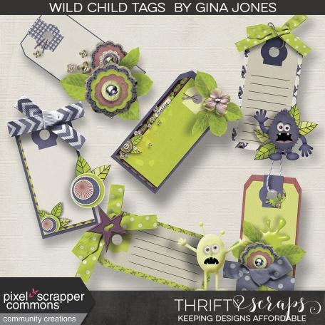 Wild Child - tags