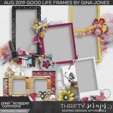 The Good Life: August Kit (cluster frames)