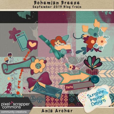Bohemian Breeze - September 2015 Blog Train