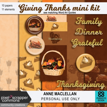 Giving Thanks Kit