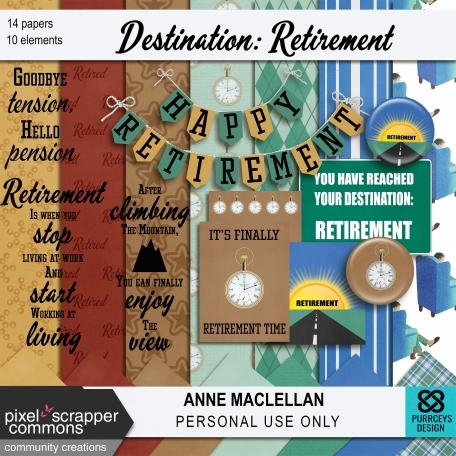 Destination: Retirement Kit