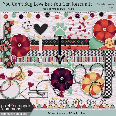 You Can't Buy Love Buy You Can Rescue It - Element Kit
