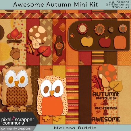 Awesome Autumn Mini Kit