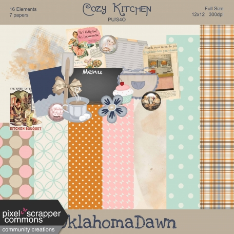 Cozy Kitchen Mini Kit