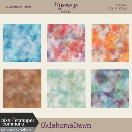 Kumbaya - Watercolor Papers