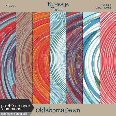 Kumbaya - Swirl Paper Kit