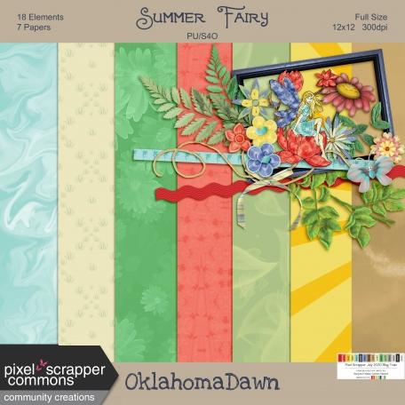 July 2020 Blog Train - Summer Fairy