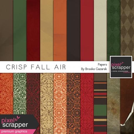 Crisp Fall Air Papers Kit
