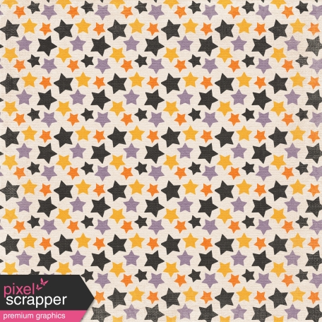 No Tricks, Just Treats Colorful Stars Paper