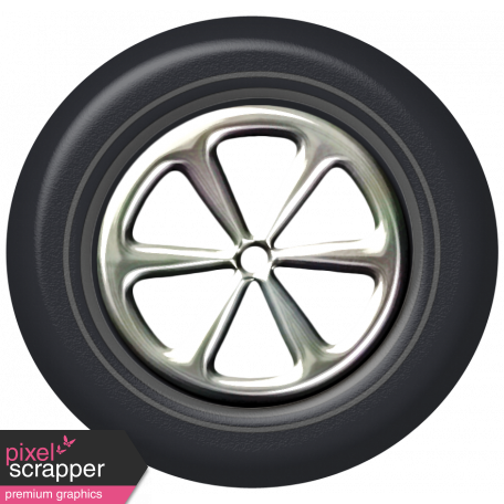 Speed Zone - Metal Rimmed Tire 01