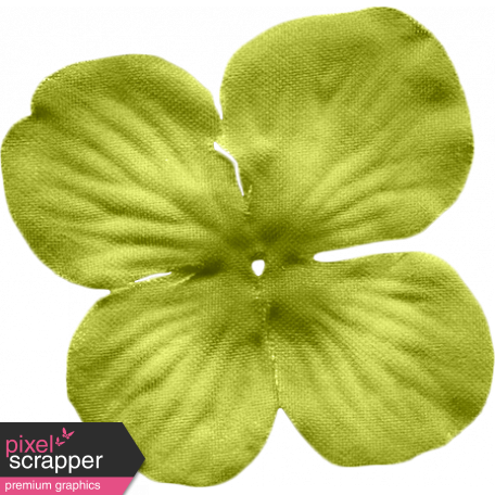 No Tricks, Just Treats-Solid Green Flower